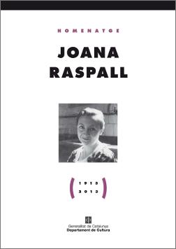 Joana Raspall (1913-2013)